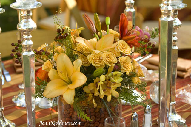 Sedona wedding centerpieces planners