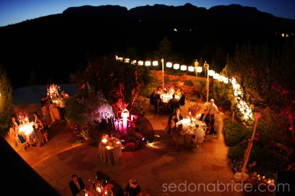 outdoor wedding in Sedona