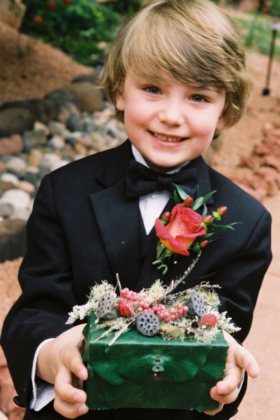 Ring bearer's box, Image by Pamela Duffy