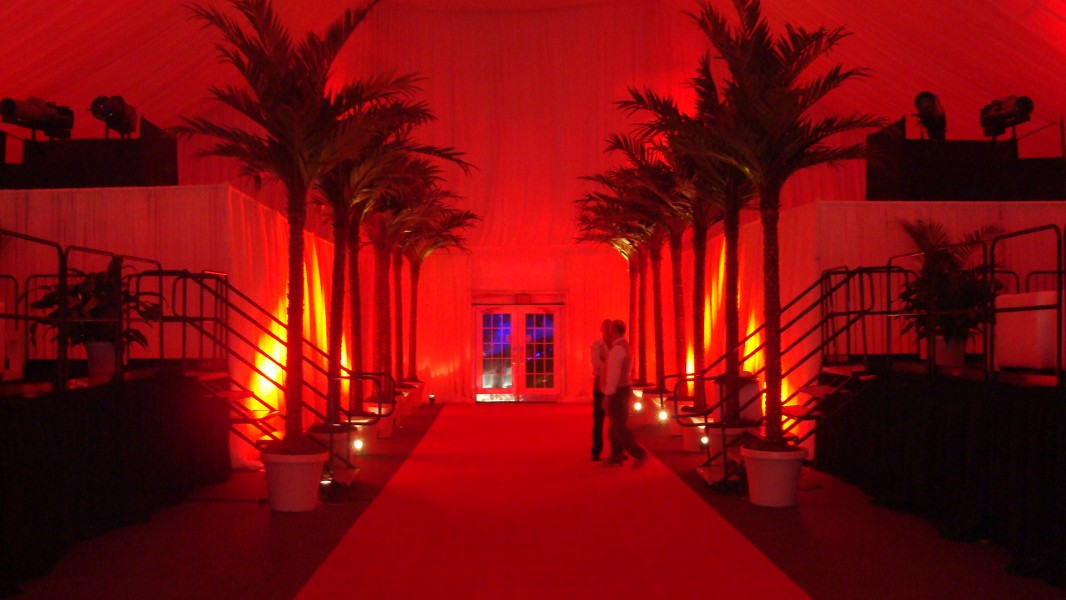 Entry Decor, Benfield Inc., Props, Draping and Lighting, Scottsdale Fairmont