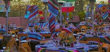 Mexican Fiesta Theme, Enchantment Resort, Sedona AZ.