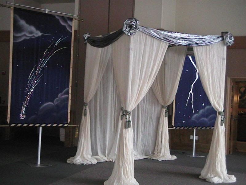 Kismet Tents, Celestial Theme, Enchantment Resort
