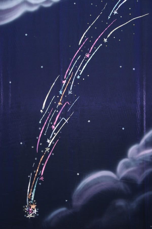Comet Backdrop