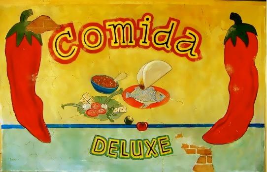 Mexican Theme Backdrop