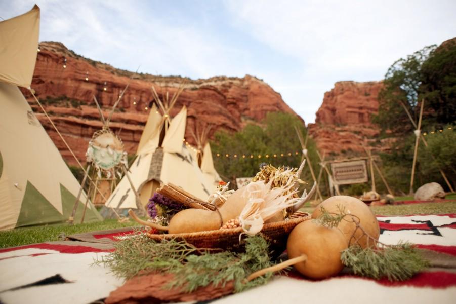 Native American Village, Enchantment Resort Circle, Image by Cameron + Kelly Studios