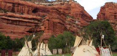 Native American Village, Enchantment Resort Circle