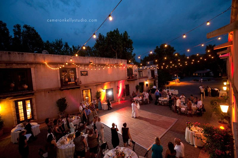 Wedding at Tlaquepaque, Image by Cameron + Kelly Studios