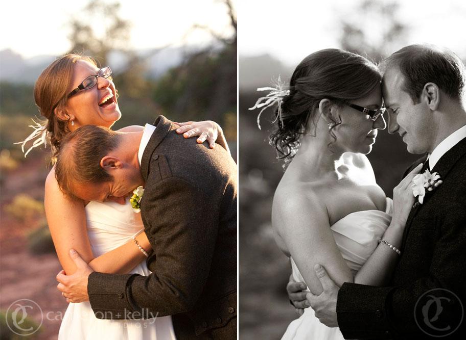 Wedding at L'Auberge de Sedona, Image by Cameron + Kelly Studios