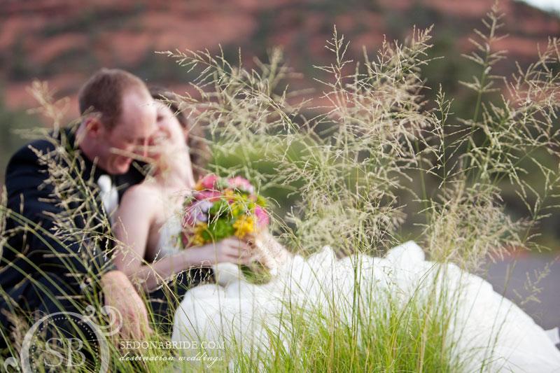 Wedding at L'Auberge de Sedona, Image by SedonaBride.com