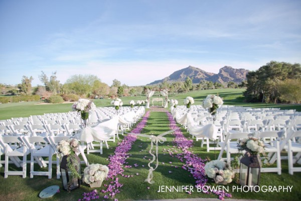 Aisle at Paradise VAlley Country Club