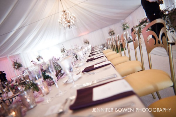 Tent at Paradise Valley Country Club Wedding