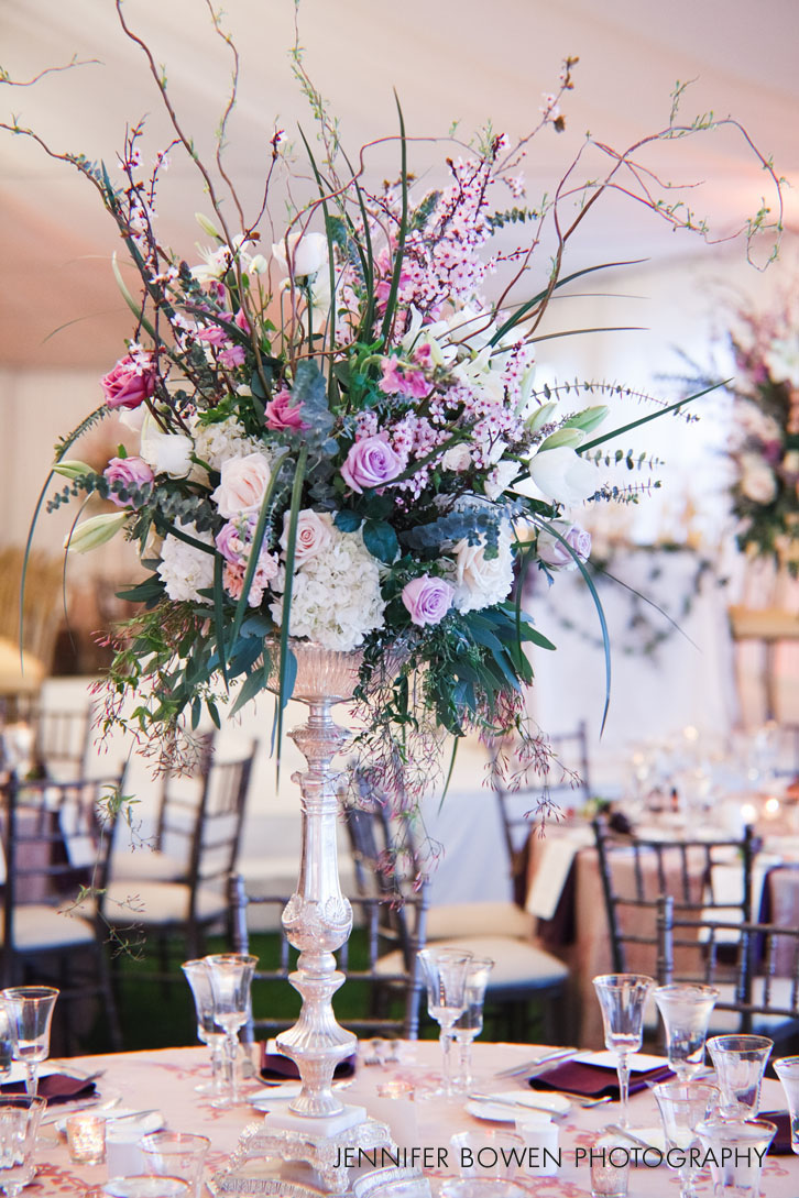 centerpiece at Paradise Valley Country Club