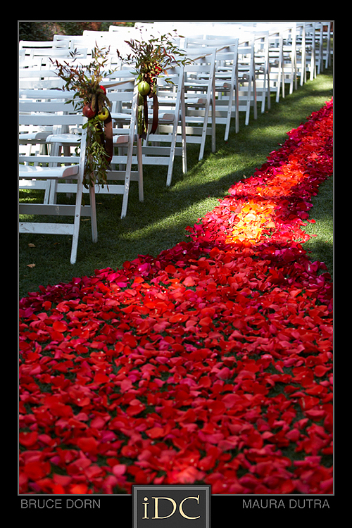 Rose Petal Carpets Sedona Wedding Planners Florists And Event