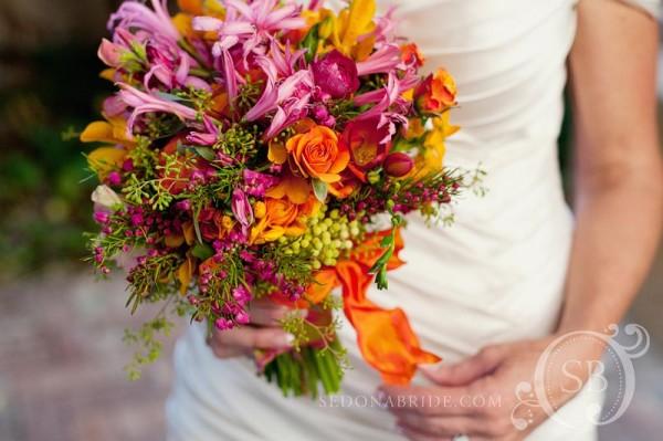Caprice's bouquet