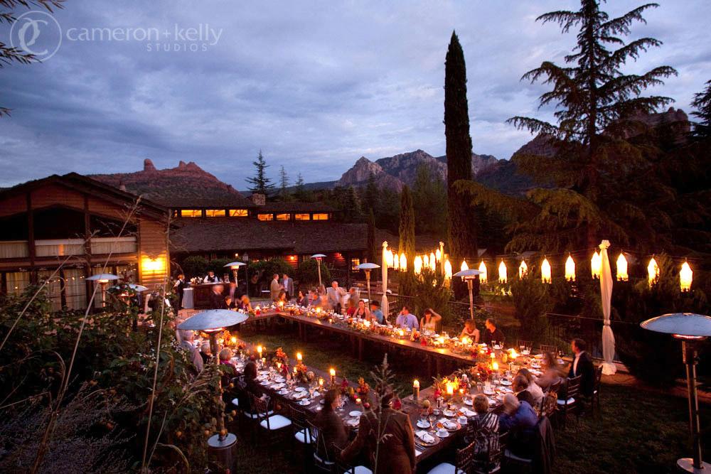 L'Auberge de Sedona, Monet Lawn, Image by Cameron + Kelly Studios
