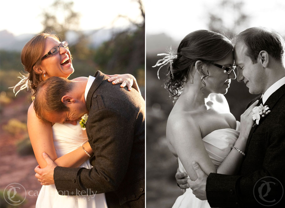 Wedding at L'Auberge de Sedona, Image by Cameron + Kelly Studios