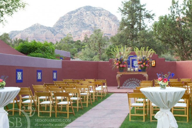 Sedona Rouge Wedding, Image by SedonaBride.com