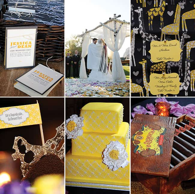 Phoenix Bride and Groom_Real Arizona Wedding_Sedona_Yellow_Gray_Sierra Blanco Photography (3)