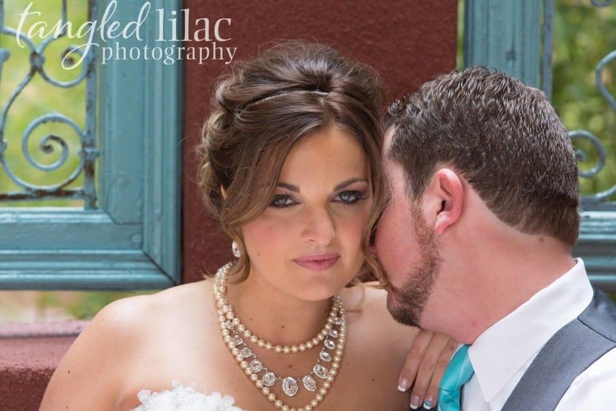 Sedona Rouge Bride and Groom