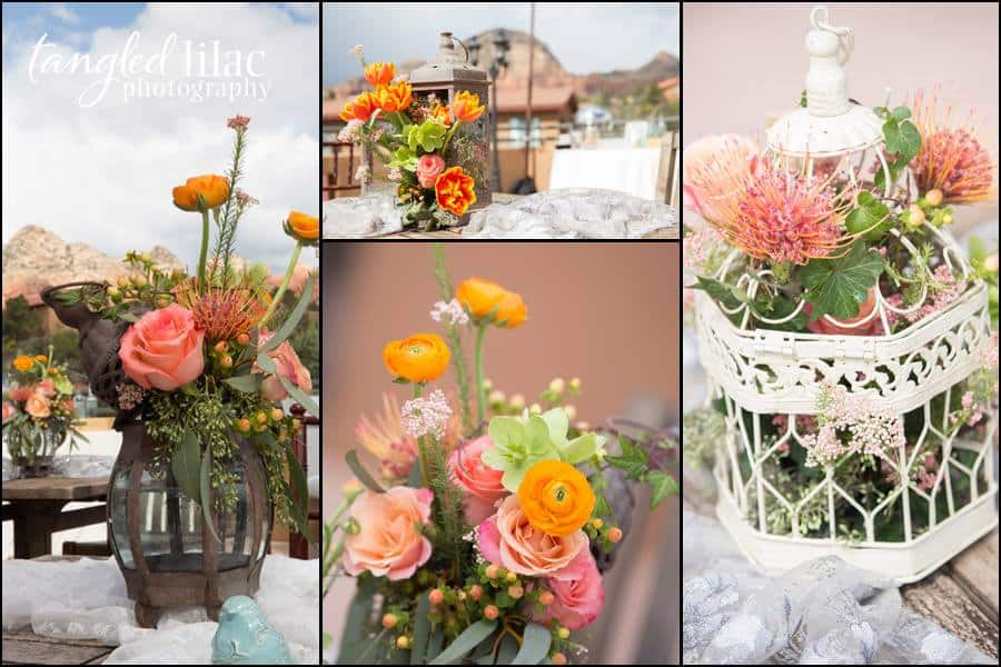 Sedona Wedding Flowers By Events By Show Stoppers